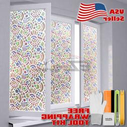"""*36""""x36"""" Frosted Film Glass Home Bathroom Window Security Pr"""