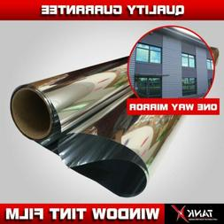 """36""""x36"""" Window Film Mirror Tint Privacy Home Commercial UV S"""