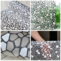 3D Static Cling Cover Frosted Window Glass Film Sticker Priv