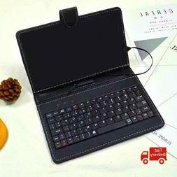 7 pu leather keyboard touchpad with case