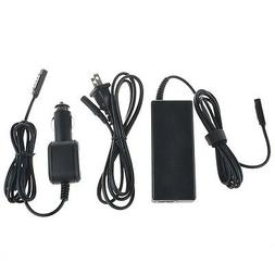 AC Adapter Car Charger for Microsoft Surface 10.6 Windows 8