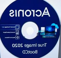 ACRONIS TRUE IMAGE RECOVERY 2020 BOOT CD  BACKUP RESTORE COM