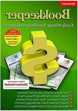 Avanquest Bookkeeper 15 create invoice  check analyze data a