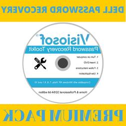 DELL Password Reset Recovery Removal CD DVD Disc Windows XP
