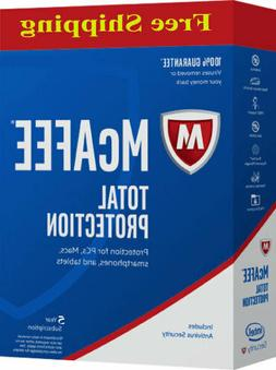 Download McAfee Total Protection 3 Device 2019 5 YEAR MAC,Wi