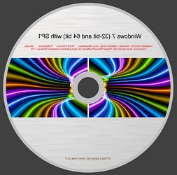 DVD WINDOWS 7  with SP1  FOR REINSTALLATION WINDOWS 7 OS