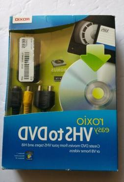 easy vhs to dvd converter for vhs