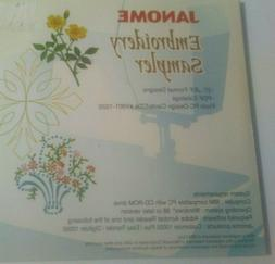 Janome Embroidery Sampler 27 Designs For Customizer 10000 Pl
