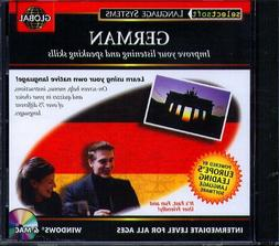 EuroTalk GLOBAL GERMAN Intermediate Level CD-ROM for Win/Mac