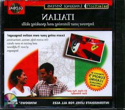 EuroTalk GLOBAL ITALIAN Intermediate Level CD-ROM for Win/Ma
