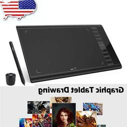 graphics drawing tablet board pen 10 6