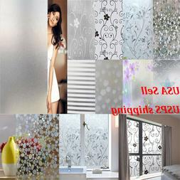 High Quality Waterproof Frosted Privacy Window Glass Cover F