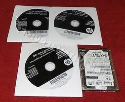 HP Compaq 6000 pro Windows 7 Pro OS Restore Recovery DVD & D