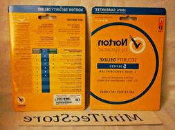 Norton Internet Security Antivirus  Deluxe 5 Devices 1 Year