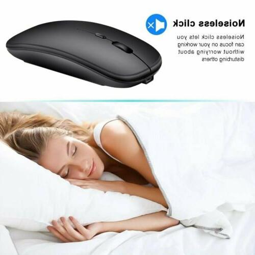 2.4GHz Ergonomic Wireless Bluetooth Dual Mode Mouse For PC