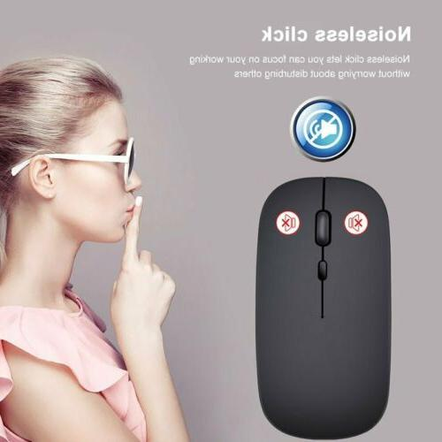 2.4GHz Ergonomic Bluetooth Dual Mode Mouse Mice For Laptop