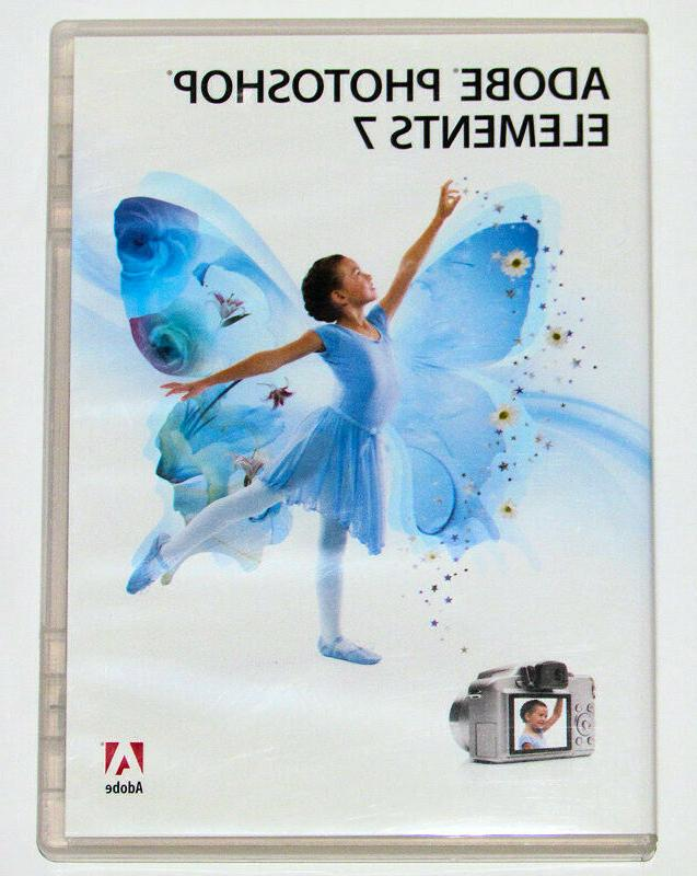 2008 Adobe Photoshop Elements 7 for Windows SN TESTED!
