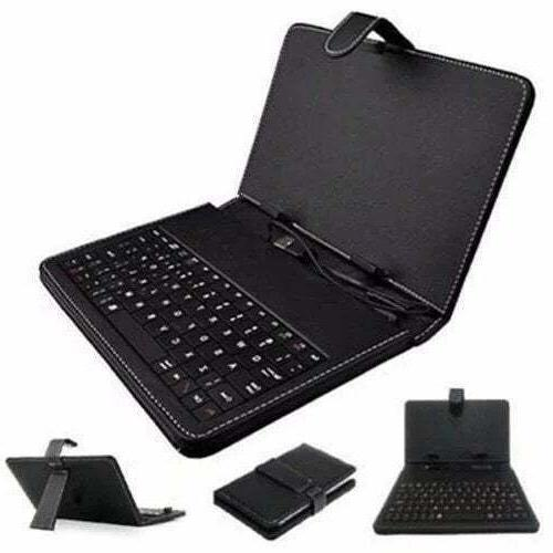 """7"""" Leather Keyboard with Case Windows"""