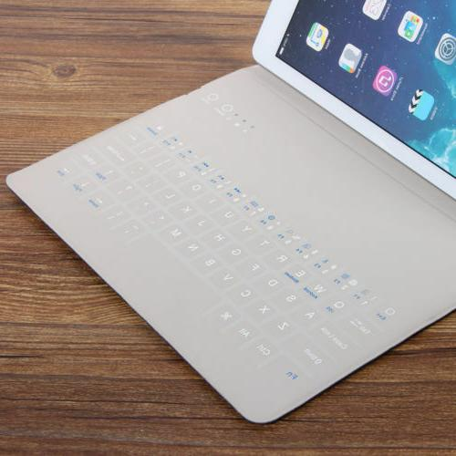 """9.6"""" Wireless Tablet Keyboard Cover for iPhone Laptop"""