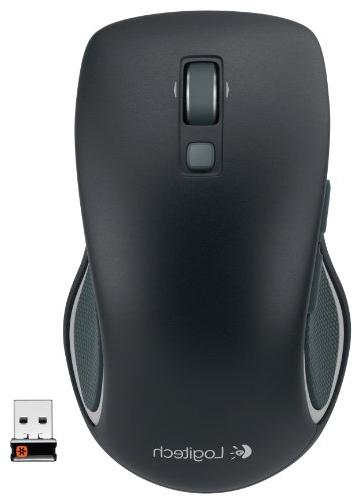 Logitech M560 Mouse – Hyper-fast Ergonomic for or Hand Use, Microsoft and for Black