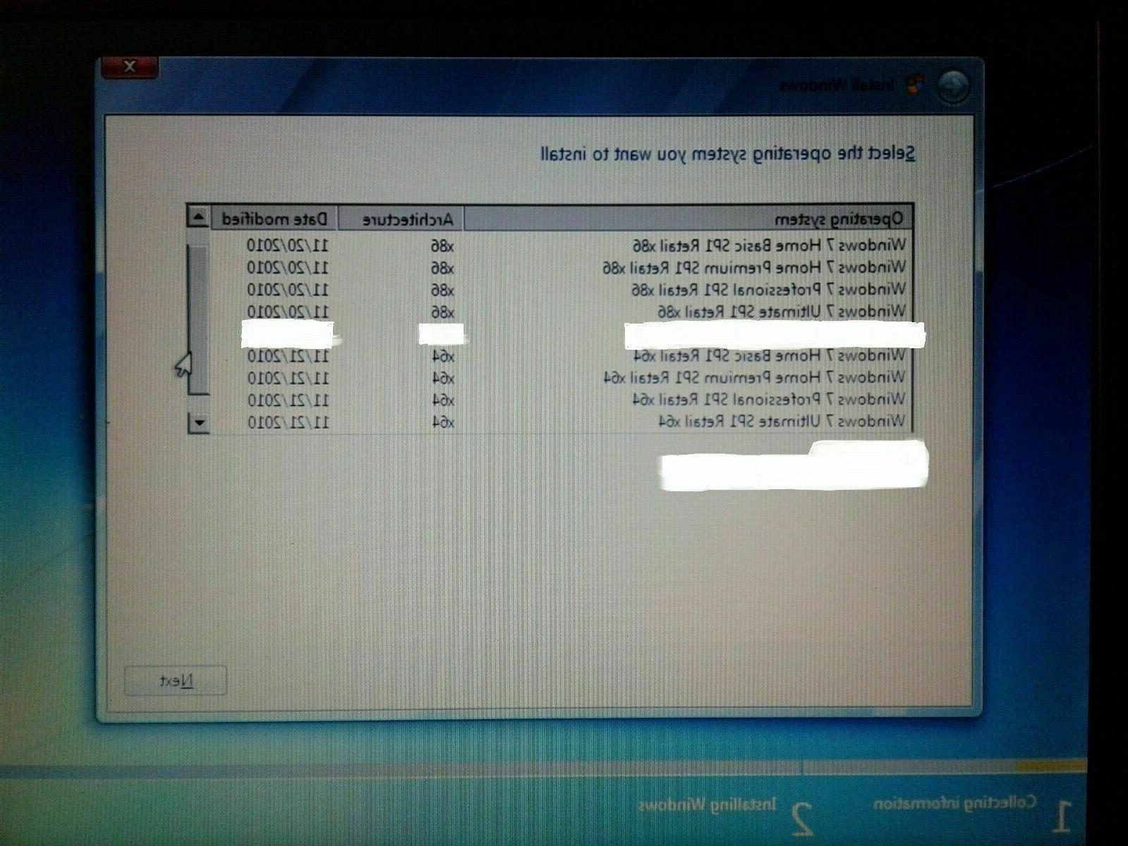 BOOTABLE DELL SP1 INSTALL FOUR