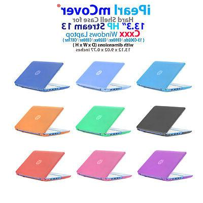 """NEW CLEAR mCover® HARD CASE for 13.3"""" HP Stream 13-Cxxx ser"""