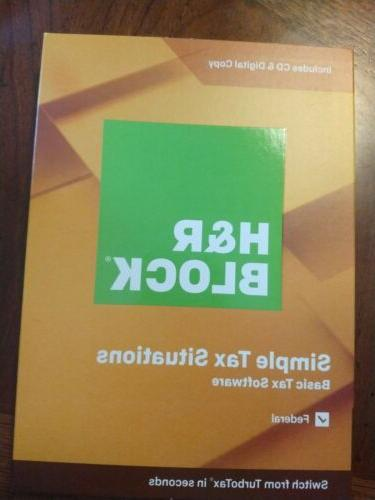h and r block tax software basic