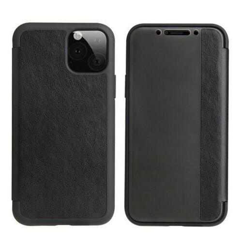 Magnetic Flip View Window Case Cover For iPhone 11 Max XS Plus
