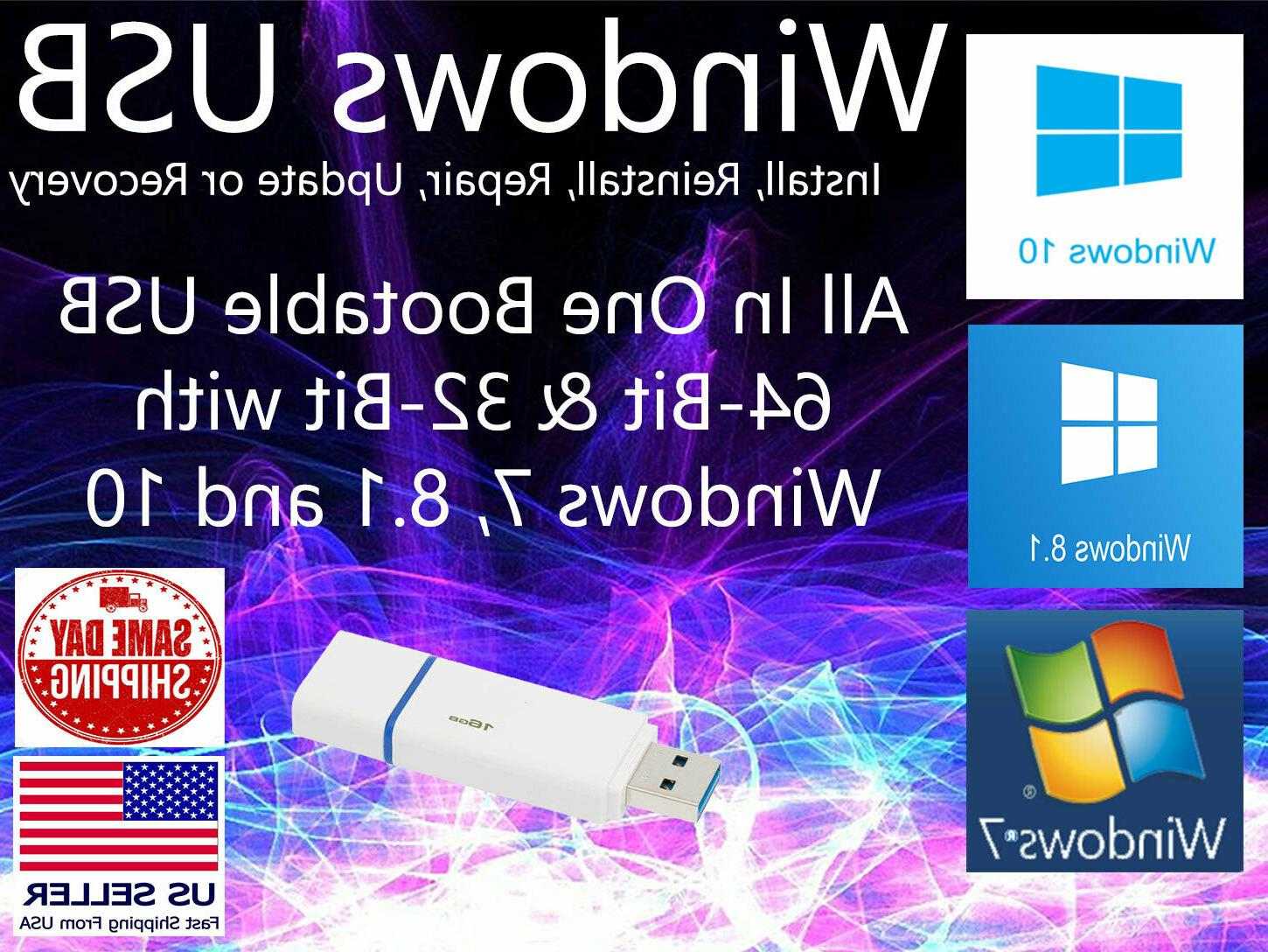 microsoft windows 10 8 1 7 all