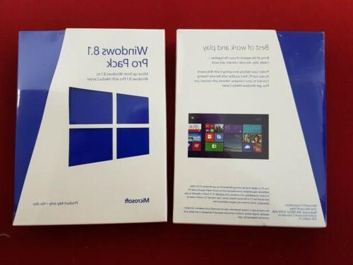 new windows professional pack 8 1 5vr