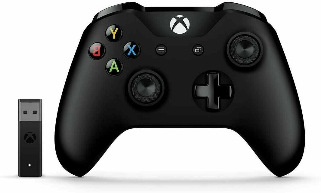 Microsoft Wireless Controller WITH Wireless Adapter Windows 10