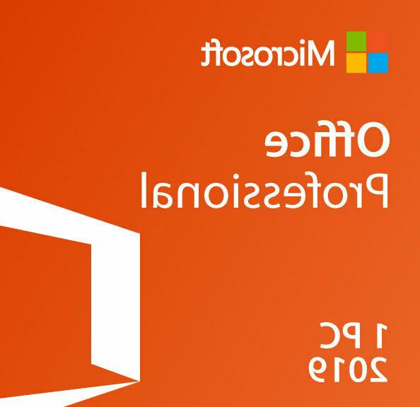 office ms office 2019 professional plus brand