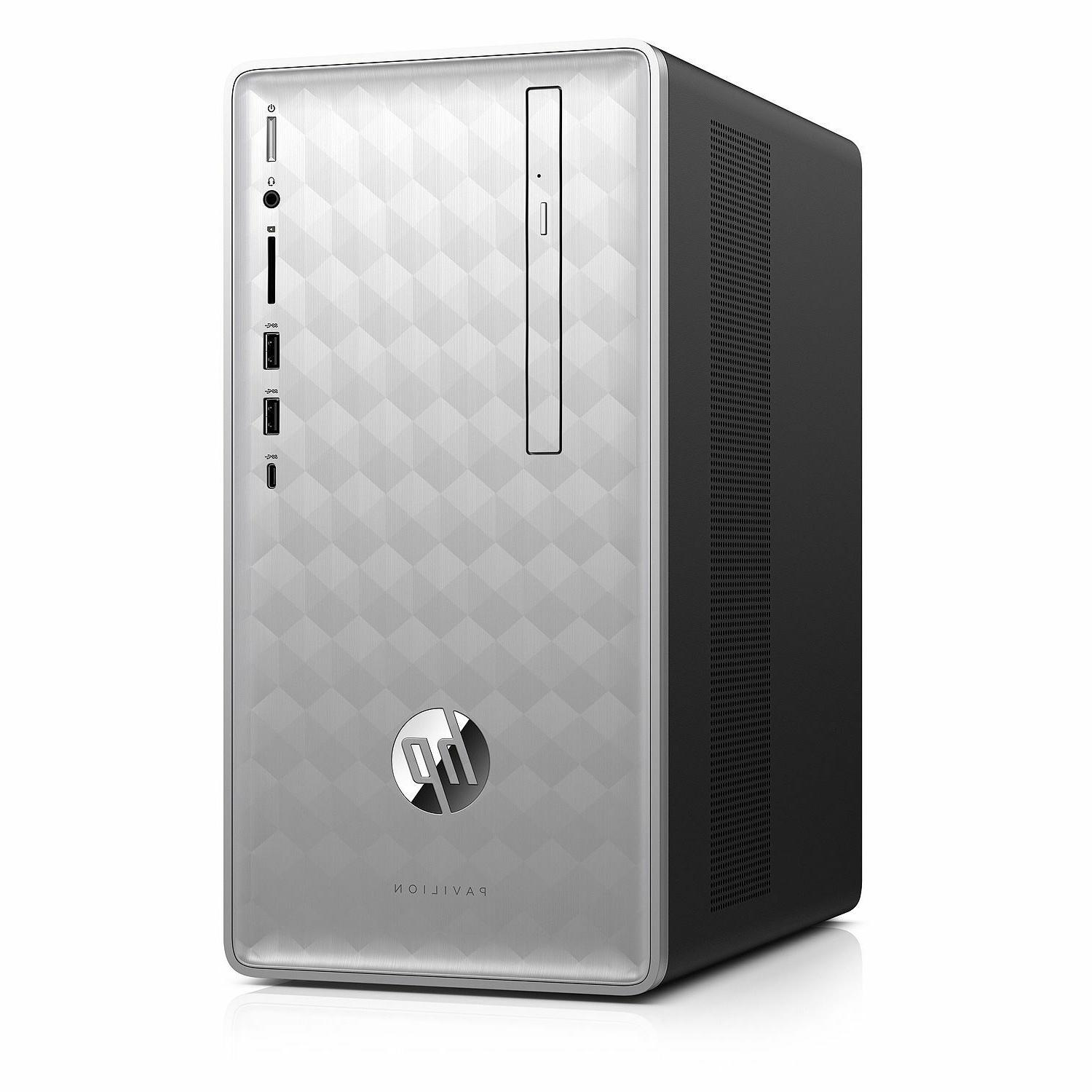 HP Pavilion i7-8700 AMD RX 2GB Premium Business Tower