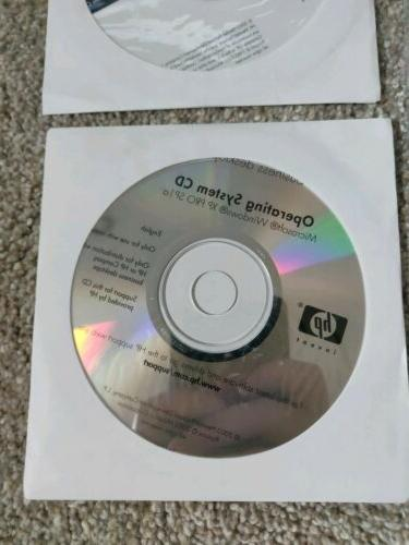 HP Restore Operating System CD XP