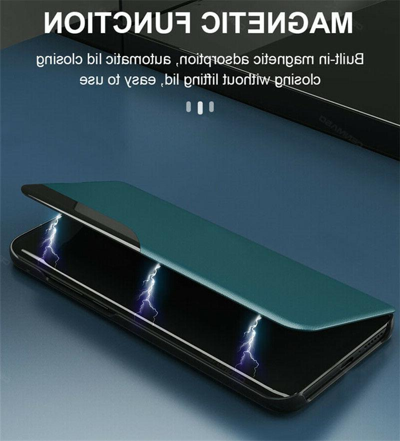 Smart Window Leather Cover For Samsung Note 10