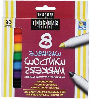 washable window markers assorted marker