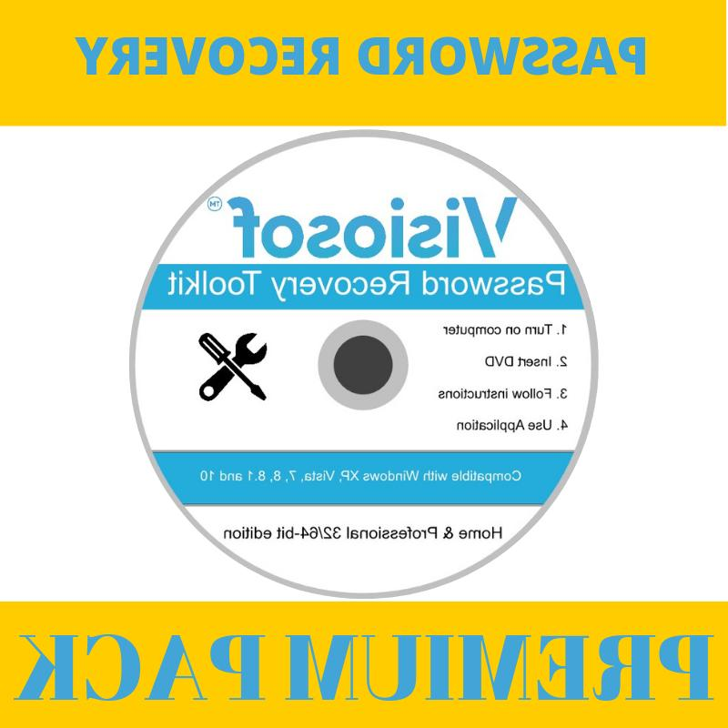 windows password reset recovery removal cd dvd