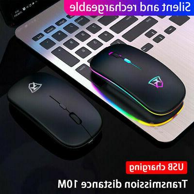 Wireless Mouse Ghz For Hp Pc Laptops Rechargeable