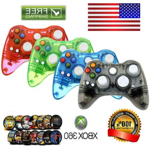 wireless usb wired controller gamepad for xbox