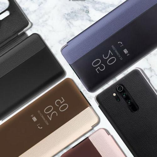 For Xiaomi 8t 8 7 8A Flip Leather