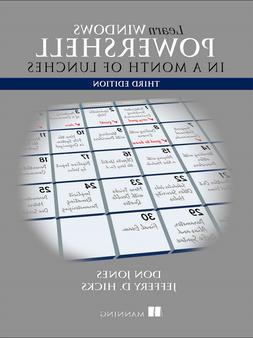 Learn Windows PowerShell in a Month of Lunches 3rd Edition,