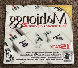 Mahjongg The Ultimate Collection 2 For PC Computer CD-ROM Wi