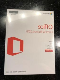 New Microsoft Office Home and Business 2016 1 MAC W6F-01022