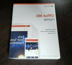New Sealed Microsoft Office 365 Home Premium 1 Year Subscrip