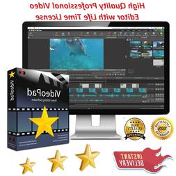 New Video Editing Software for Windows-7,8,10 Full Licence D