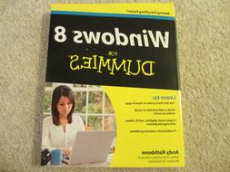 ☀️ NEW WINDOWS 8 For DUMMIES Paperback Book by Andy Rath