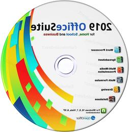 2019 Office Suite Software CD Home Student Business for Micr