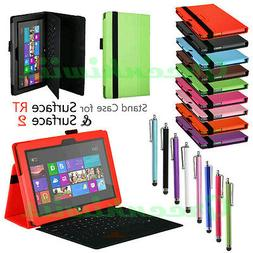 Premium Windows Surface RT Surface 2 Stand Case PU Leather F