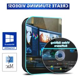 PROFESSIONAL Video Editing Software DVD for Mac OS & Windows
