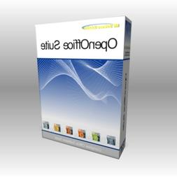 Open Office 2019 DVD - Open Word Excel Files for MS Microsof